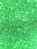 Blurry background of green glitter sparkle Royalty Free Stock Photos