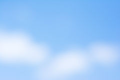Blurry blue sky Royalty Free Stock Photo