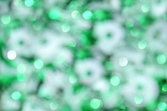 Blurry Christmas bokeh lights Royalty Free Stock Photo