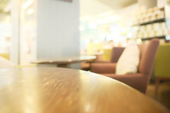 Blurry coffee shop Stock Image