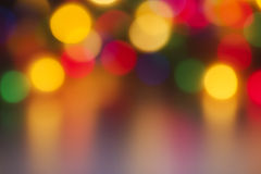 Blurry colored lights Royalty Free Stock Photography