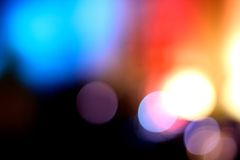 Blurry colorful lights 2 Royalty Free Stock Images