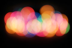 Blurry colorful lights Stock Photo