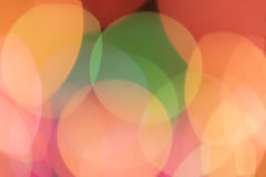 Blurry colorful lights Royalty Free Stock Image
