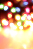 Blurry colourful lights Royalty Free Stock Photo