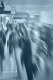 Blurry Crowd Royalty Free Stock Photography