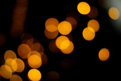 Blurry defocused light bokeh abstract background. Festive blurry defocused light bokeh abstract background. Holiday concept stock photos