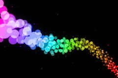 Blurry dots Stock Image