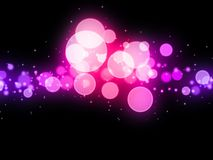 Blurry dots Stock Photography