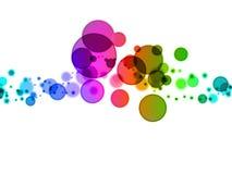 Blurry dots Stock Photo