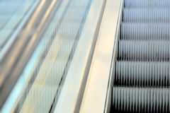 Blurry escalator Royalty Free Stock Image