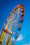 Blurry Ferris Wheel In Motion