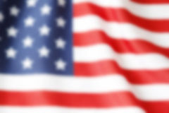 Blurry flag Royalty Free Stock Images