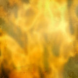 Blurry flames of fire with the paper texture Royalty Free Stock Photos