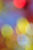 Blurry focus lighting color effects defocused background Stock Photo
