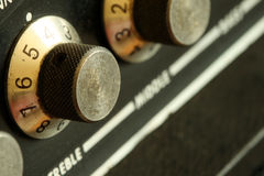 blurry knobs vintage Στοκ Φωτογραφία