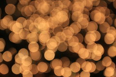 Blurry light. Background of blurry yellow light Royalty Free Stock Photography