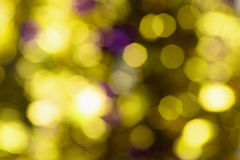 Blurry Lights. Close Up of Blurry Lights Background Stock Photography