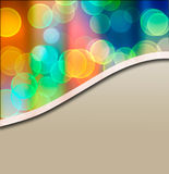 Blurry lights background. Blurry lights in rainbow colors Royalty Free Stock Image