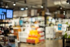Free Blurry Liquor Store Stock Images - 139152464