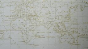 Blurry Map Texture royalty free stock image