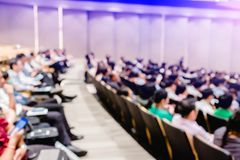 Free Blurry Of Auditorium For Shareholders` Meeting Or Seminar Event Royalty Free Stock Images - 143909979