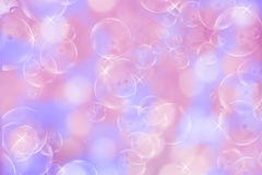 Blurry pink bokeh background Royalty Free Stock Photo