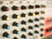 Blurry of power mixer Stock Photography