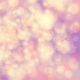 Blurry purple bokeh background Royalty Free Stock Images