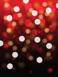 Blurry red light vector Royalty Free Stock Photos
