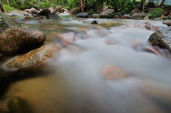 Blurry river Stock Photography