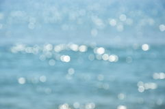 Blurry sea Royalty Free Stock Images