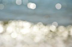 Blurry sea Royalty Free Stock Photos