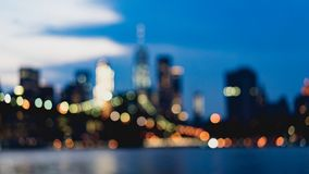 Blurry skyline Royalty Free Stock Photography