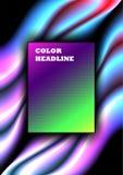 Color headline Seamless infinite pattern. Blurry smoky vector background. Seamless infinite pattern. Zigzag geometric shapes Royalty Free Stock Image