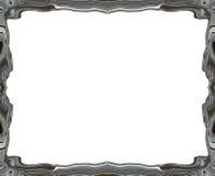 Blurry smooth border frame Stock Image