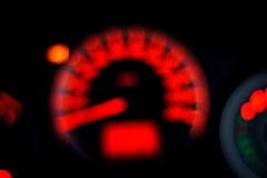 Blurry speed meter Stock Image