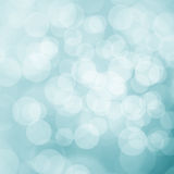 Blurry summer bokeh background. Beautiful blurry turquoise blue summer bokeh abstract light illustration background Royalty Free Stock Photos