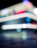 Blurry urban background Stock Images