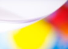 Blurry vibrant abstraction Stock Photos