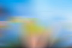 Blurry vibrant abstraction Stock Photo