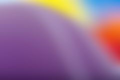Blurry vibrant abstraction Stock Photography