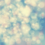 Blurry vintage bokeh background Stock Images