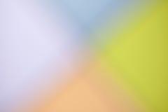 BlurSpring голубого зеленого цвета Colorfull фиолетовые оранжевые или конспект лета Стоковые Изображения