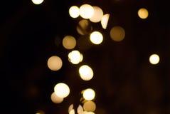 Blury bożonarodzeniowe światła Obrazy Stock
