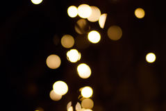 Blury julljus Arkivbilder