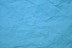 Blus crinkle paper Royalty Free Stock Photo
