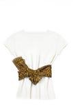 Blusa branca elegante Fotos de Stock Royalty Free