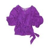 Blusa da mulher do Lilac Imagem de Stock Royalty Free