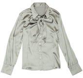Blusa gris de las mujeres. Fotos de archivo